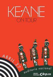 Keane Promo Poster